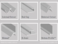 Wetwall Profiles & Trims
